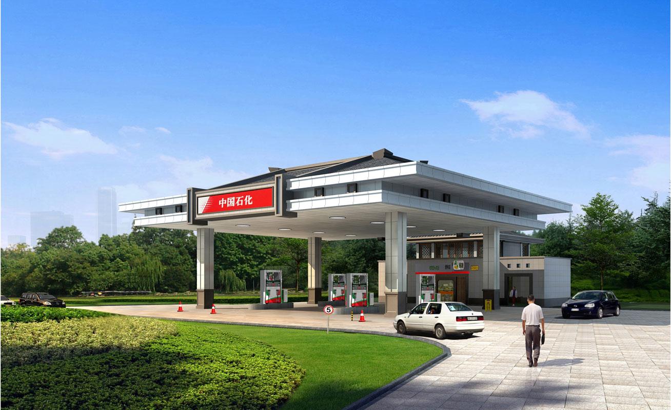 河北景區加油站