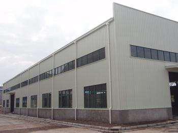 上海安徽省合肥國際農品物流園鋼結構廠房工程