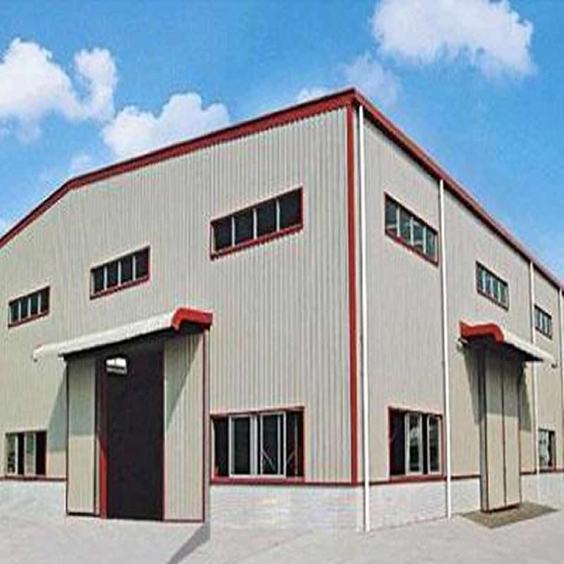 上海濟南保稅區倉儲鋼結構廠房