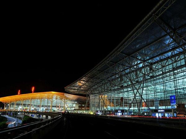 天津濱海國際機場航空工業網架