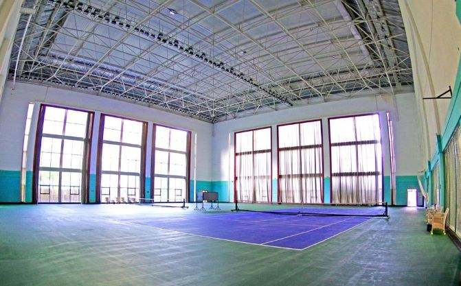 上海沈陽師范大學體育館網架