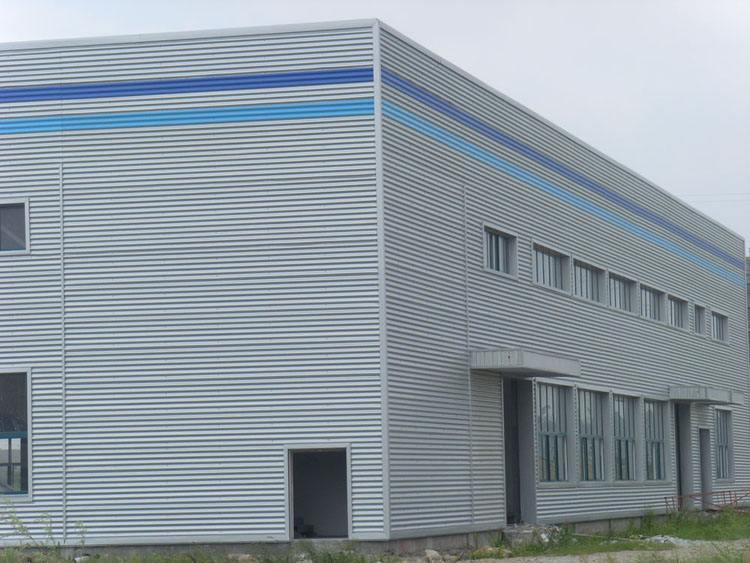 新疆浙江省寧波物流倉儲鋼結構廠房