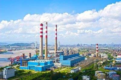 上海國華焦作電廠網架工程