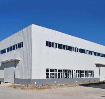 上海內蒙古某牛奶生產企業鋼結構廠房工程