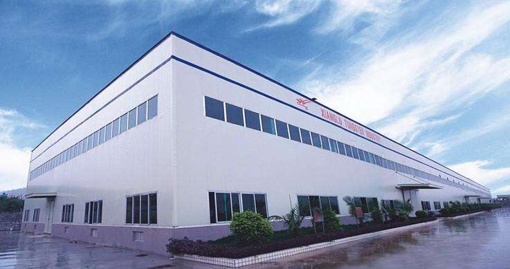 安徽省東部某加工企業生產車間鋼結構廠房工程