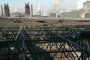 河北津西鋼廠網架