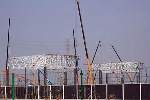 上海特斯拉超級工廠網架項目