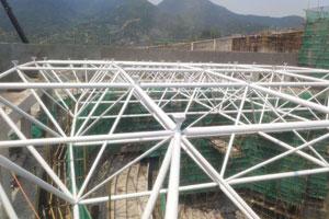 西藏林周縣綜合樓網架
